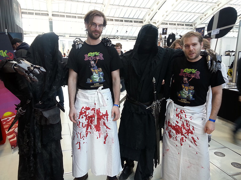 Nazgul and us, together at last